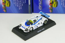 Kyosho 1/64 Mazda 787B #18 Blue Rotary Engine Minicar Collection 2013
