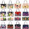 Women's Poppy FLower Patent Designer Butterfly Print Shoulder Bags Bag Handbags