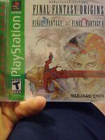 Final Fantasy Origins Final Fantasy 1 & 2 (PS1, Sony PlayStation 1, 2003) (NEW)