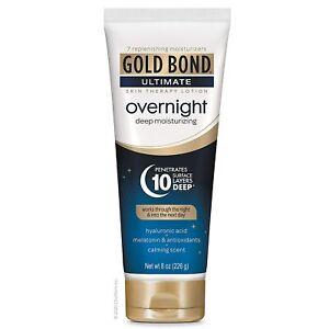 Gold Bond Ultimate OVERNIGHT Deep Moisturizing Lotion, Calming Scent 8 oz / 226g