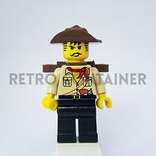 LEGO Minifigures - 1x adv041 - Johnny Thunder - Adventurers Omino Minifig Pack