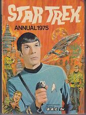 "Star Trek Annual World Distributors 1975 ""Spock Photo Cover"" Hardcover Edition"