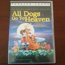 All Dogs Go To Heaven (DVD, 2004) Region 4 Rare  Forever Young Collection