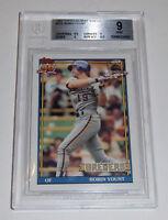 1991 BREWERS Robin Yount Topps Desert Shield #575 card Beckett 9 MINT Milwaukee