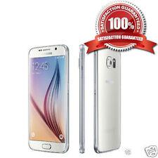 Samsung Galaxy S6 SM-G920F SIMFREE 32 Go Perle Blanche Débloqué Smartphone Bon état Grade