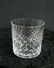 "SIGNED Waterford Crystal Alana Old Fashioned Glasses 3 3/8"" 9 oz - 4 Available"