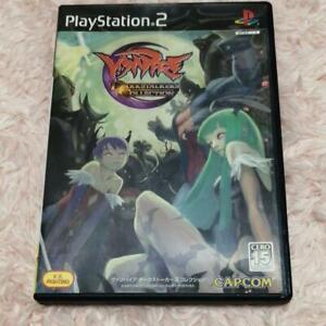 PS2 Vampire Darkstalkers Collection PlayStation 2 CAPCOM Japan Import