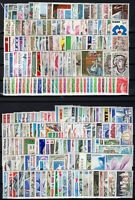 D129225/ FRANCE / LOT COMPLETE YEARS 1975 / 1979 MINT MNH – CV 265 $