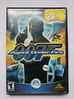 James Bond 007 in Agent Under Fire (Sony PlayStation 2, 2002) Complete