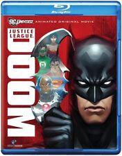 Justice League: Doom [2 Discs] [Blu-ray (2012, Blu-ray NEW) BLU-RAY/WS2 DISC SET