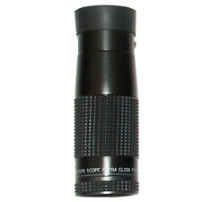 Walters Low Vision 6.3x25 Handheld Monocular with Case and Neck Strap - NIB
