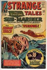 Strange Tales #125 VG+ Human Torch & Thing Battle Sub-Mariner