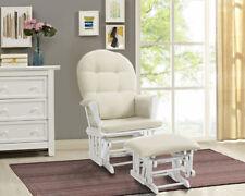 Nursing Chair Glider Rocker Ottoman Baby Furniture Rocking Seat breast feeding