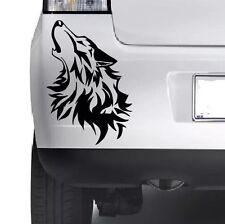 Wolf Bumper Vinyl Sticker Window Laptop Car Truck 4x4 Jeep Decal Vinyl Xbox JDM