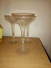 Vintage Set Of 3 Cocktail? Glasses