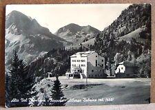 Alta Val Brembana - Foppolo - Albergo Dalmine (mt.1608) [grande, b/n, viaggiata]