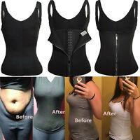 Plus Size Shapewear Waist Trainer Vest Sweat Waist Belt Fat Burner Weight Loss