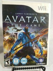James Cameron's Avatar: Game (Nintendo Wii, 2009) w/ Instruction Manual