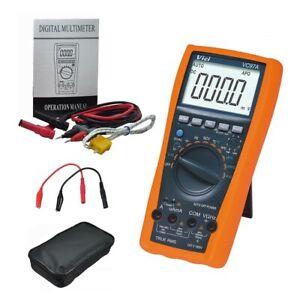 VICI VC97A TRMS DMM AC DC Voltmeter Capacitance Resistance digital Multimeter