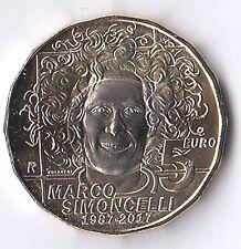 2017 - 5 Euro Bimetallica SAN MARINO dedicata a Marco Simoncelli Fior di Conio