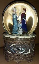 Disney Frozen Eiskönigin Anna Elsa Olaf Schneekugel Snow Globe Melodie Music