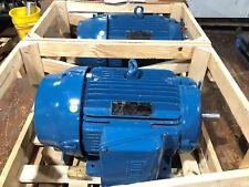 40HP WEG W22 Electric Motor 460V 3PH 3555RPM 324TS/6TS IEEE 324TS 45.8A CAN SHIP