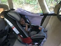 The Car Seat Shade (Canopy Shade Cover to Protect your Baby from the Sun)