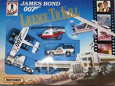 James Bond Licence to Kill Matchbox 4 Vehicle Gift Set