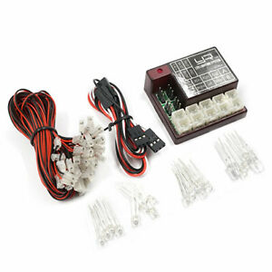 2 Channel Programmable LED Lighting System For 1:10 RC Car Truck. YR LK-0034