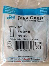"More details for john guest pi0812s 3/8""  x 1 bag of 10"