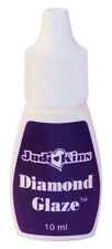 Judikins Diamond Glaze Water-based Dimensional Adhesive 10ml squeeze bottle