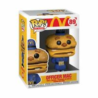 FUNKO POP! - AD ICONS - MCDONALDS - OFFICER MAC - NOW AVAILABLE