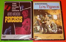 PSICOSIS + LOS PAJAROS / Psycho + Alfred Hitchcock's The Birds -DVD R2- Precinta