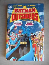 BATMAN AND THE OUTSIDERS VOL 1 HARD COVER VO NEUF/ MINT