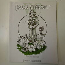 vocal score JACK SPRATT VC , allwood - scott - james taylor