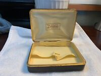 Vintage Original Box Duratone FIRTH Playing Cards Travel Case RARE Beauty