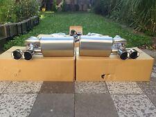 Klappenauspuff PORSCHE 911 997 Turbo Sportauspuff Auspuff + 200 Zellen Sportkats