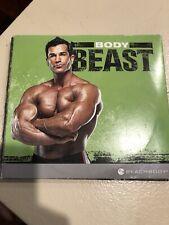 Pre-owned Beachbody Body Beast 4-disk Set Only