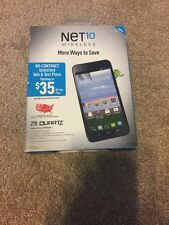 ZTE Quartz Z797C - 8GB - Black PRE-PAID SmartPhone for NET10 Service NEW!