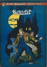 EO 1953 EDDY PAAPE + J.M. CHARLIER JEAN VALHARDI, DÉTECTIVE : LE CHÂTEAU MAUDIT