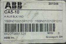 NEW IN BOX! ABB CA5-10 Auxiliary Block 1SBN010010R1010