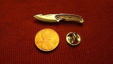 Buck Knife Knives Gut Hook Firearms Hat Lapel Pin