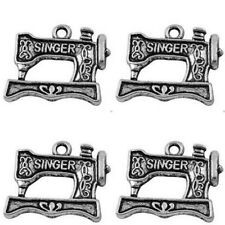 Sewing Machine Singer Charms Tibetan Silver Pendant Pack of 20
