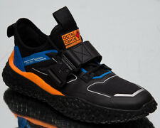 Puma HI OCTN Sports Design Men's Black Blue Orange Low Lifestyle Sneakers Shoes