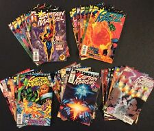 CAPTAIN MARVEL #1 - 35 Comic Books FULL SERIES Peter David THANOS Jim Starlin VF