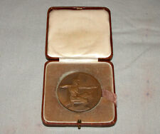 1928 British NRA King's Trophy Competition Bronze Medal in Display Box