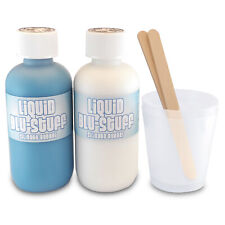 Blu-Stuff Silicone Rubber - Liquid 220ml - Mold Mould Casting - 20 minute curing