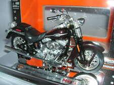 Maisto Harley-Davidson 2005 FLSTCI Softail Springer Classic Rojo Vino red, 1:18
