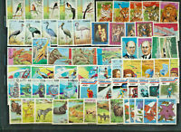 CONGO Topical Stamp Collection 64 Different Large Size with High Catalog Value
