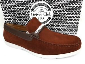 Driver Club USA Mens Los Angeles Casual Shoes Loafer Size 11 M, Suede NEW  21255